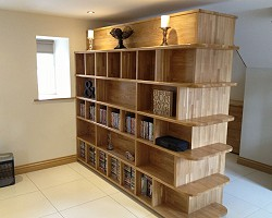 Bookcase AW Cameron Joinery, Aberdeen, Stonehaven, Montrose