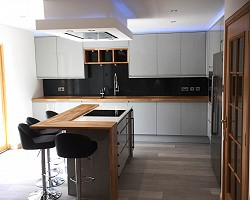 Kitchen in Dyce AW Cameron Joinery, Aberdeen, Stonehaven, Montrose
