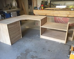 Custom Desk AW Cameron Joinery, Aberdeen, Stonehaven, Montrose