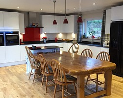 Kitchen and Table AW Cameron Joinery, Aberdeen, Stonehaven, Montrose